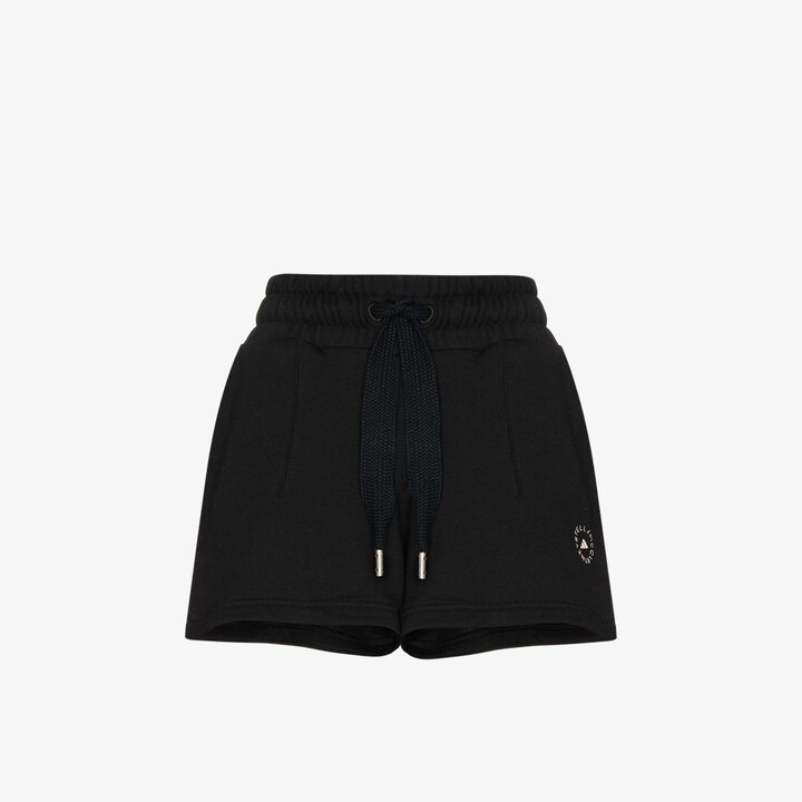 Thumbnail for your product : adidas by Stella McCartney Sweat Fleece Drawstring Shorts