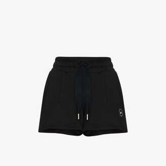 adidas by Stella McCartney Sweat Fleece Drawstring Shorts