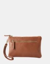 Matilda Leather Clutch