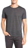 John Varvatos Stripe Crewneck T-Shirt