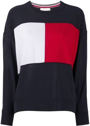 Tommy Hilfiger Signature Colour Block Jumper
