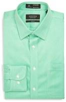 Nordstrom Men's Smartcare(TM) Wrinkle Free Trim Fit Houndstooth Dress Shirt
