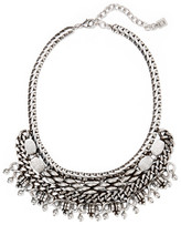 Dannijo Zahara Oxidized Silver-plated Necklace - one size