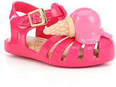 Mini Melissa Girls' Aranha X Fisherman Sandals