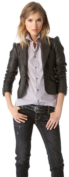 DSquared Dsquared2 Leather Jacket