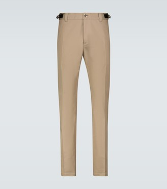 Versace Meander belted accent pants
