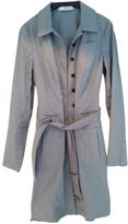 Prada Grey Cotton Trench coat