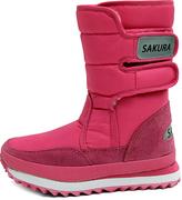Sakura Rose Double-Strap Snow Boot