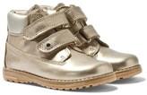 Primigi Gold Aspy Metallic Velcro Ankle Boots