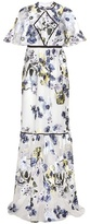 Erdem Jules Embroidered Gown