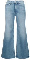 3x1 cropped flared jeans - women - Cotton/Polyurethane/Lyocell - 23