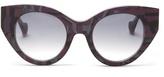 Fendi X Thierry Lasry geometric-print sunglasses
