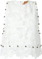 No.21 lace blouse - women - Polyester/metal - 38