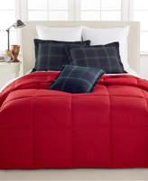 Lauren Ralph Lauren Color Down Alternative King Comforter, 100% Cotton Cover Bedding