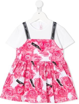Miss Blumarine Rose Print Tunic