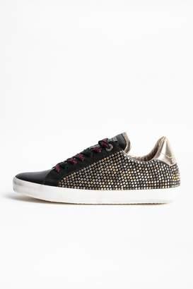 Zadig & Voltaire Ao Studs Sneakers
