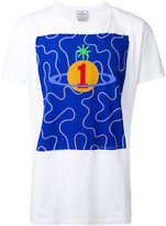 Vivienne Westwood Man - orb print T-shirt - men - Cotton - M