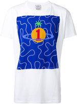 Vivienne Westwood Man - orb print T-shirt - men - Cotton - S