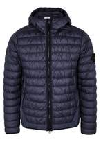Stone Island Navy Quilted Shell Jacket