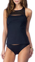 Lauren Ralph Lauren Blocked Cutout Tankini Top
