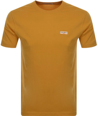Nudie Jeans Daniel T Shirt Orange