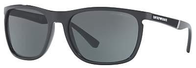 Emporio Armani EA4107 Rectangular Sunglasses