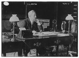 HistoricalFindings Photo: J.L. Breton,desk,lamps,telephone,Bain News Service