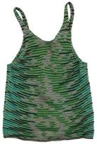 M Missoni Green & Teal Cotton Knit Tank