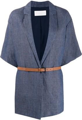 Fabiana Filippi belted waist jacket