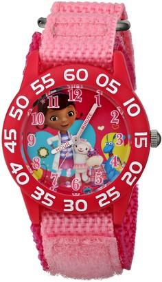 Disney Kids' W001685 Doc McStuffins Plastic Case