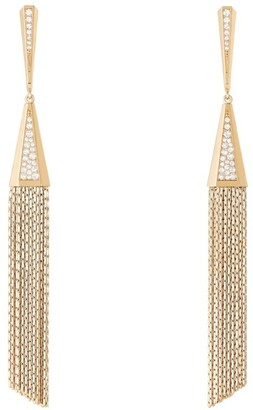 Boucheron Yellow Gold Diamond Delilah Earrings
