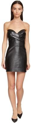 Ermanno Scervino Leather Corset Dress