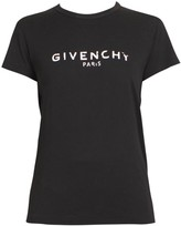 Givenchy Logo Cotton T-Shirt
