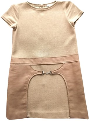 Gucci Camel Viscose Dresses
