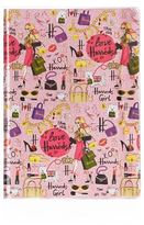 Harrods Glamorous City A5 Notebook