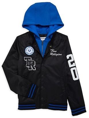 True Religion Boy's Varsity Jacket