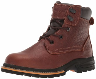 "AdTec Ad Tec Men's 6"" Work Boots Oiled Leather"