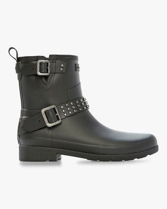 Hunter Refined Stud Biker Boot