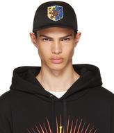Gucci Black Crest Baseball Cap
