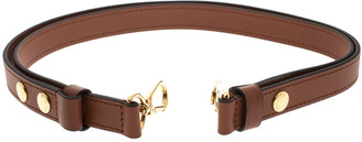 Louis Vuitton Brown Leather Adjustable Bag Shoulder Strap