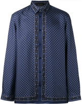 Versace printed shirt - men - Silk - 40