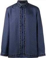 Versace printed shirt - men - Silk - 41