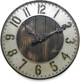 Bed Bath & Beyond Rustic Punched Metal Wall Clock