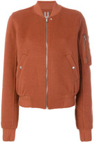 Rick Owens Flight bomber jacket - women - Cotton/Cashmere - 40