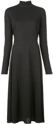Marc Jacobs Dotted Maxi Dress