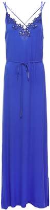 Suncoo Long Blue Dress - 0 - Blue