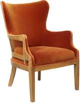 OKA Launceston Velvet Armchair