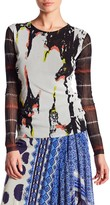 Petit Pois Abstract Print Blouse