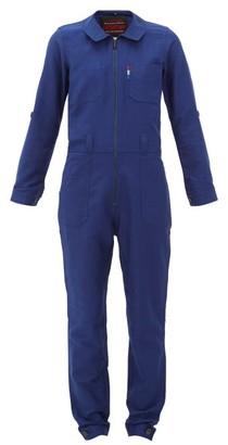 Lafont Funtaine Cotton-canvas Jumpsuit - Navy