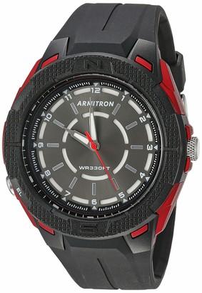 Armitron Sport Men's Japanese Quartz Sport Watch with Resin Strap